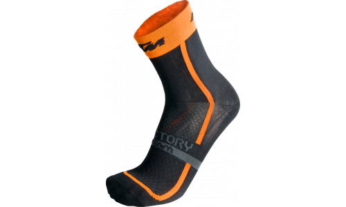 KTM Factory Team Socks Black/Orange